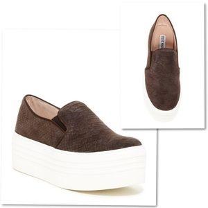 Steve Madden Bellie Platform Loafer Sneaker SZ 11